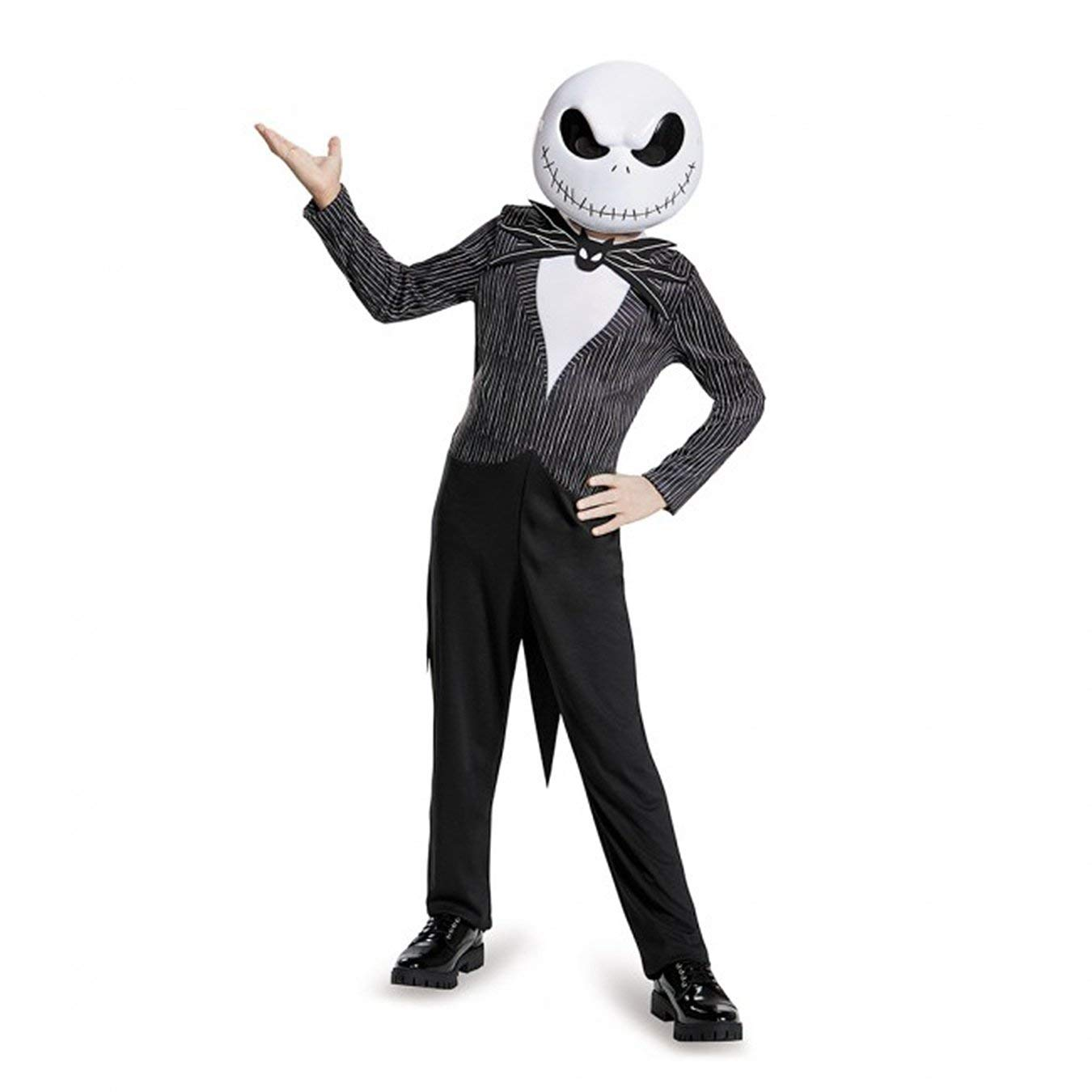 jack skellingtonkids costume