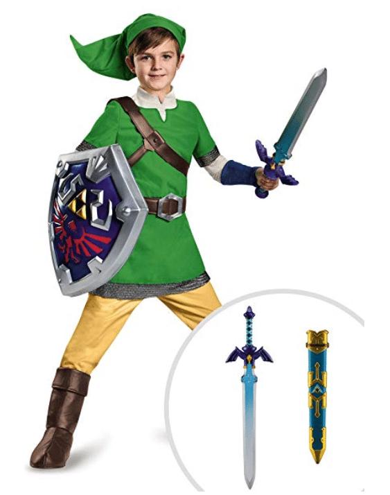 kids costumes zelda link