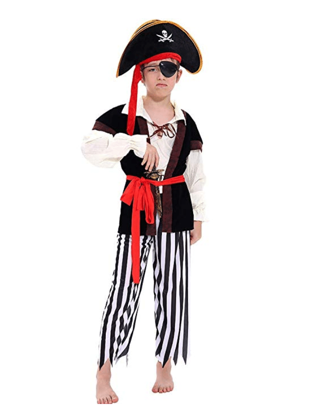 kids costumes pirate