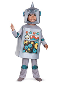 kids costumes robot