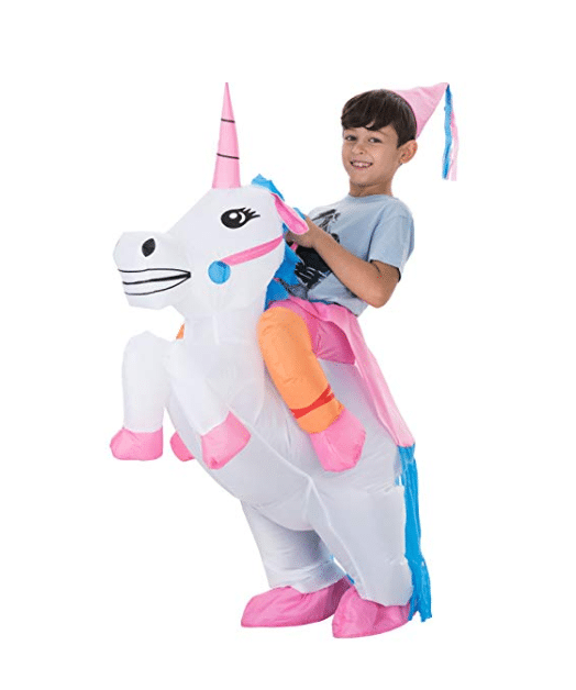 kids costumes unicorn rider