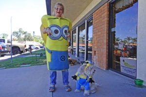 minions owner and pet costume - halloween costumes