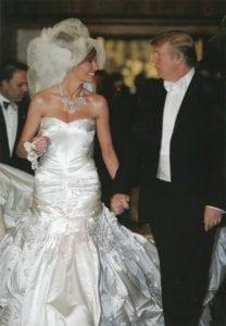 most expensive wedding dresses melania trump