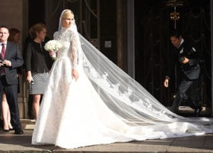 most expensive wedding dresses nicky hilton