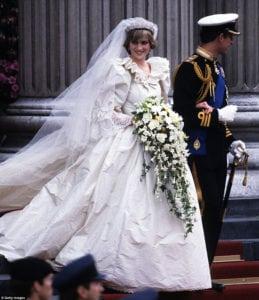 most expensive wedding dresses princess diana
