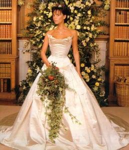 most expensive wedding dresses victoria beckham