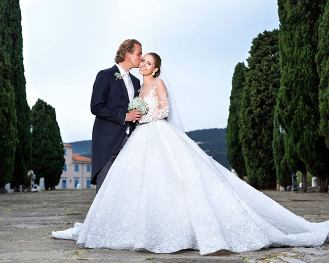 most expensive wedding dresses victoria swarovski