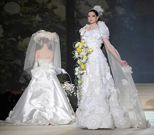 most expensive wedding dresses yumi katsura