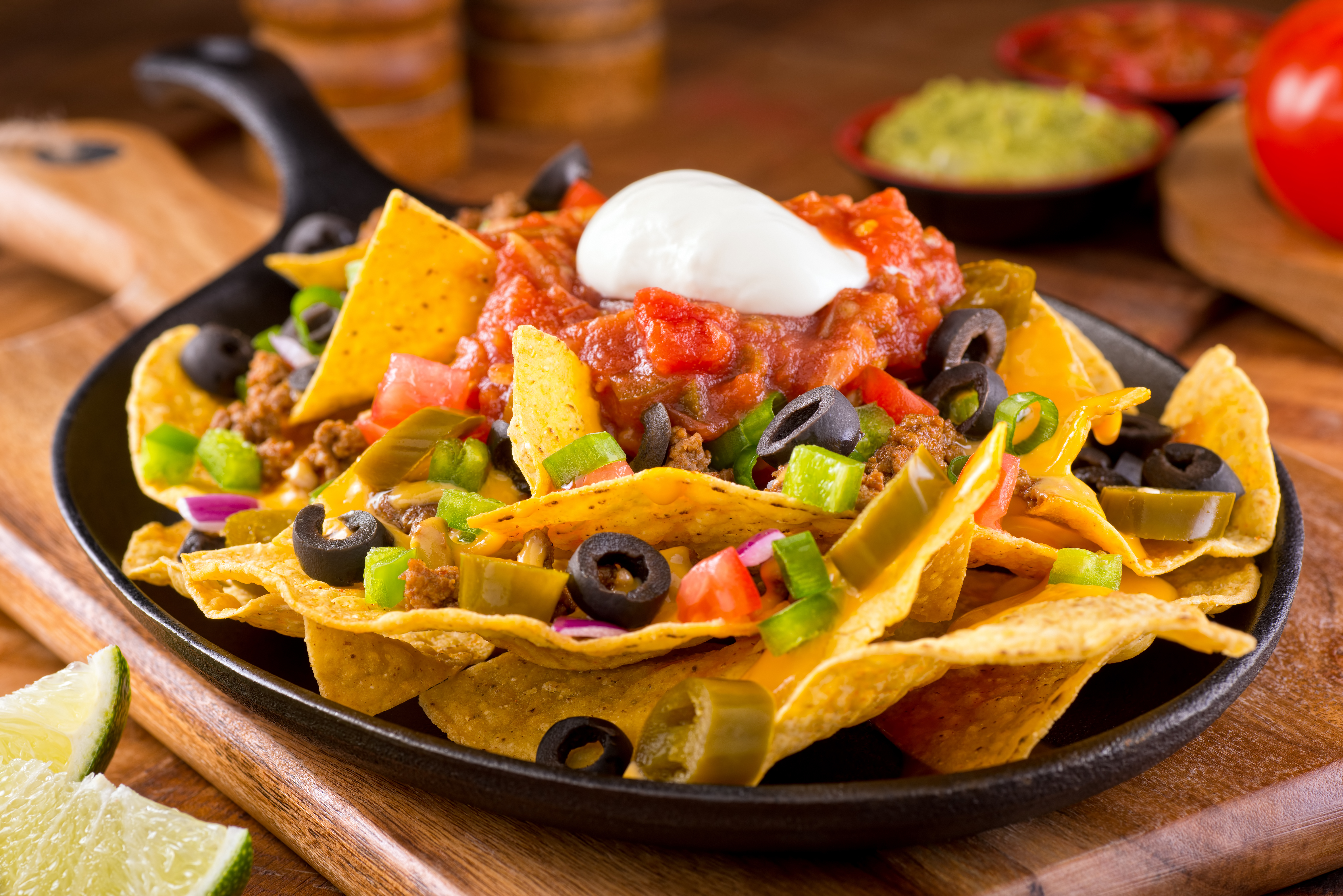 most unhealthy fast food Steak Nachos