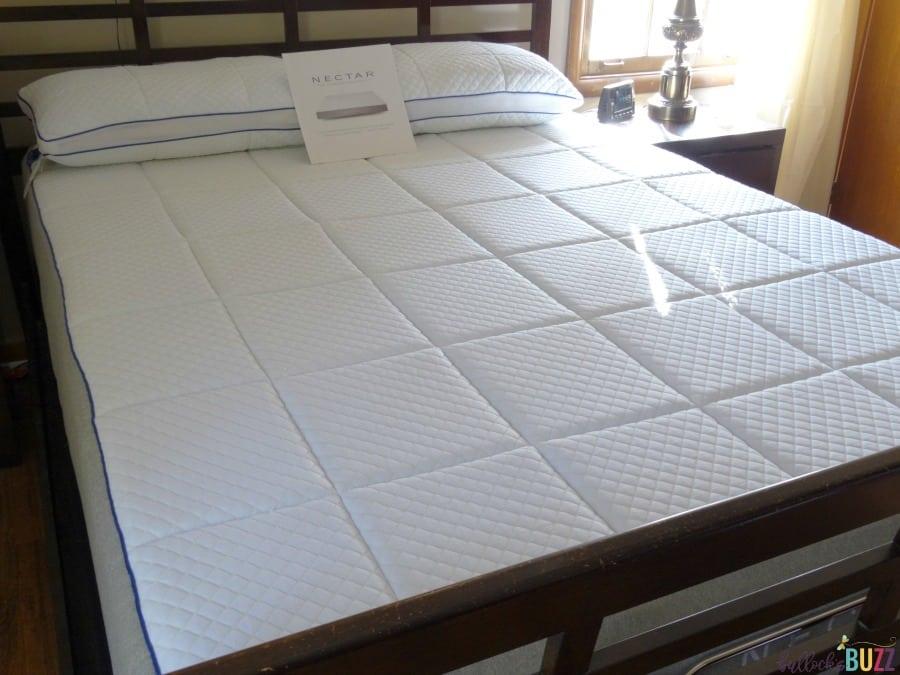 Nectar mattress look and feel