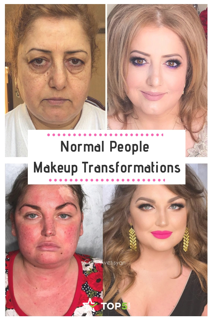 1.) Completely Transformed. Indian woman makeup transformations