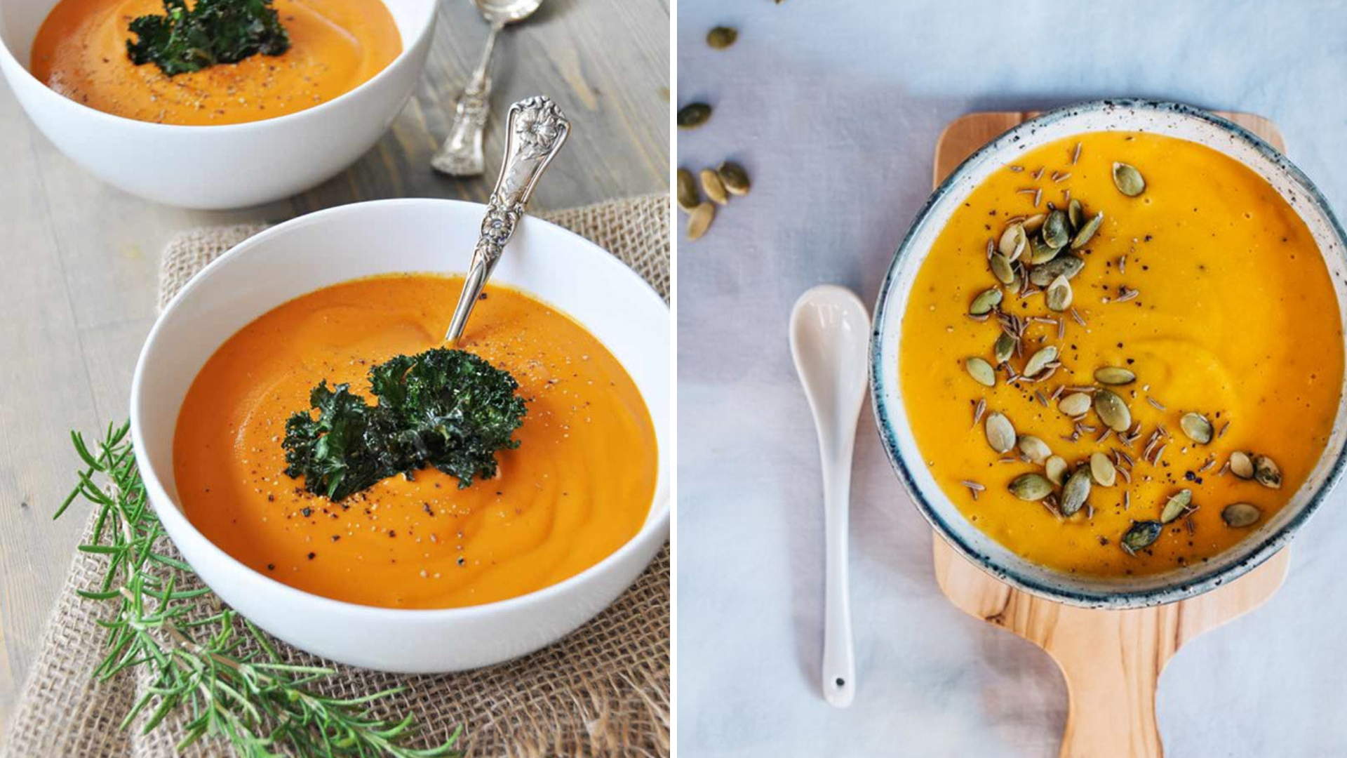 Recipes for Blended Soups to Keep You Warm This Fall