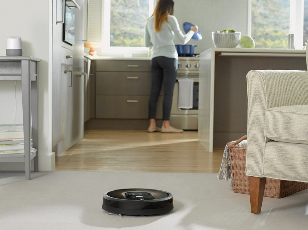 Here's How the Robot Vacuum Plays a Part in the Smart Home