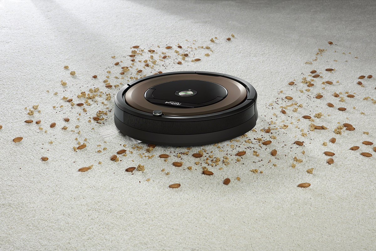 can a robot vaccum replace a normal vacuum? roomba eating debris
