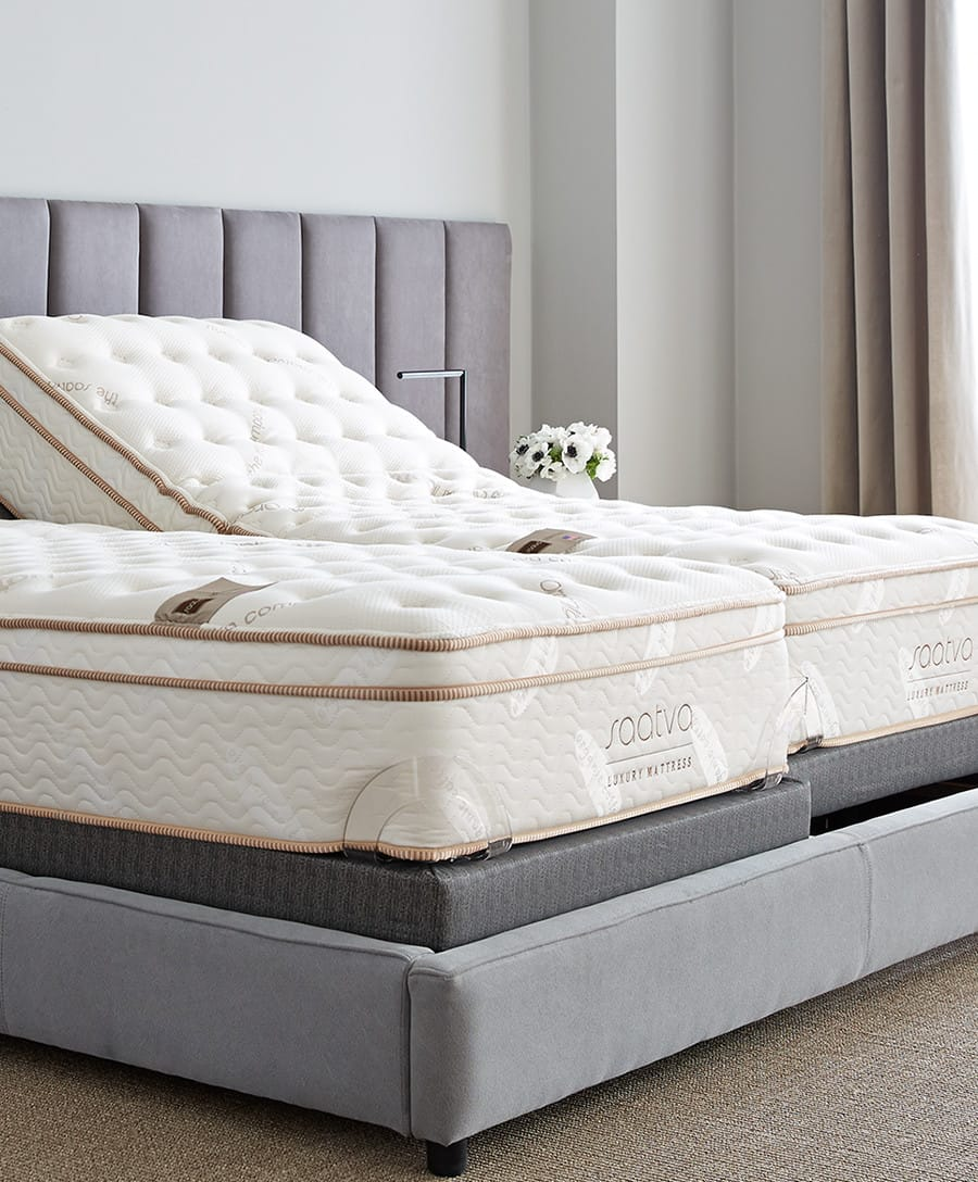 Saatva mattress is flexible