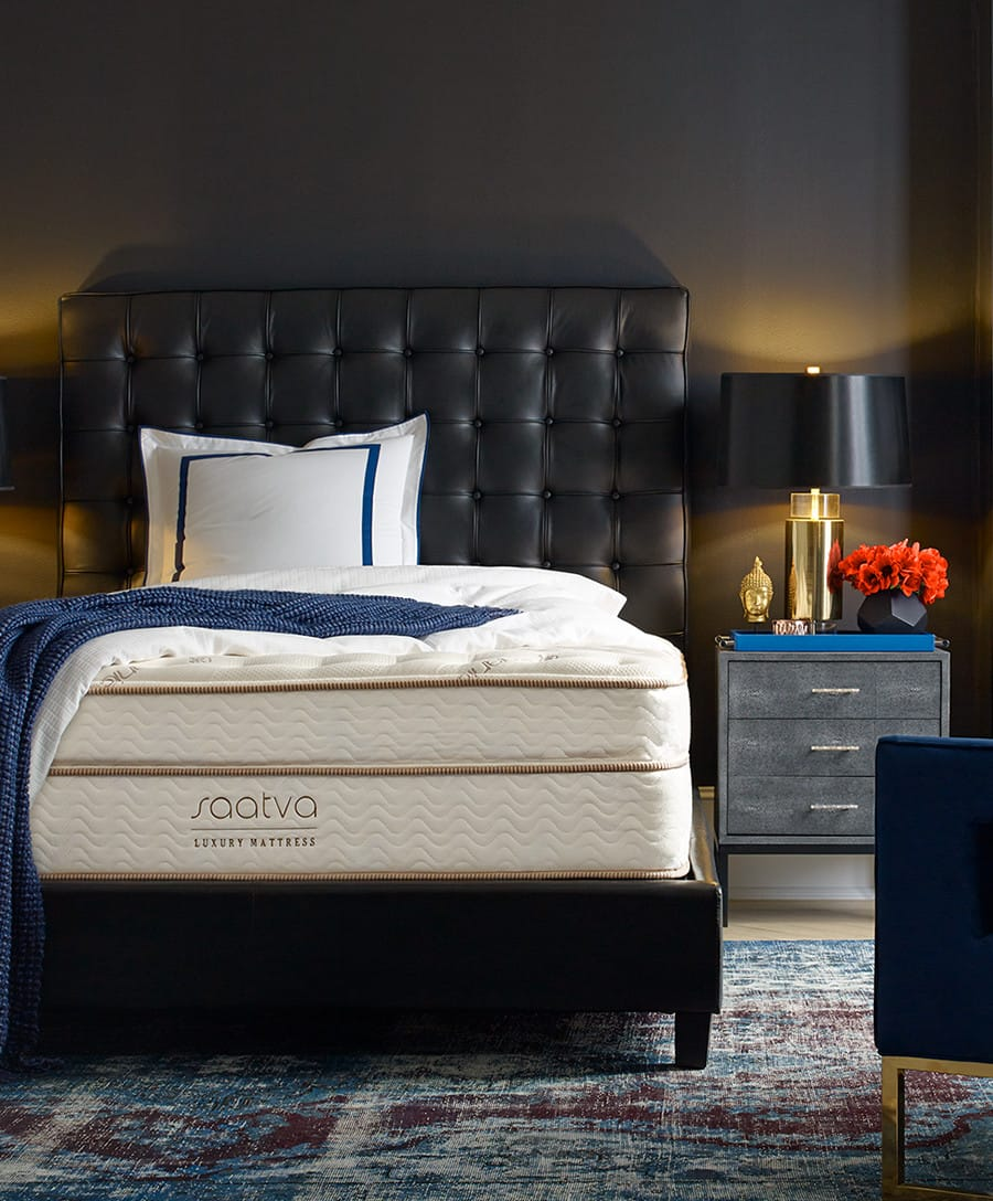 A comfortable Saatva mattress