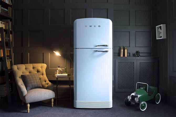 smeg style refrigerator