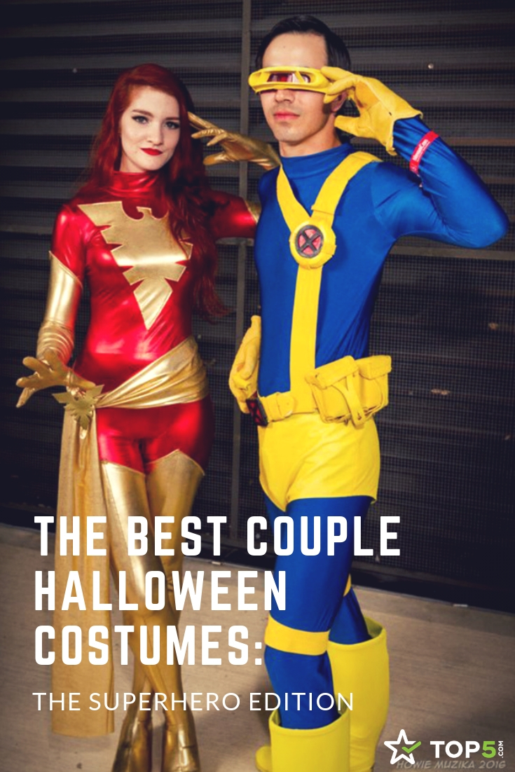 the best couple halloween costumes - superhero edition