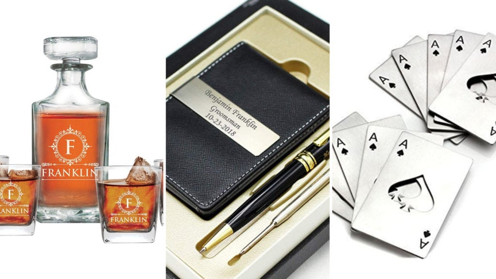 Groomsmen Gifts That the Guys Will Actually Love
