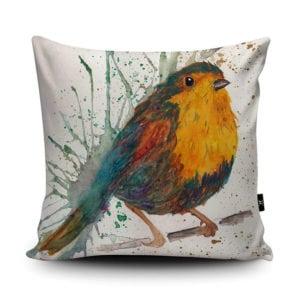vegan home decor - robin vegan suede cushion : pillow
