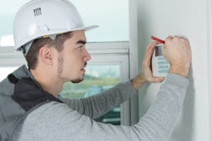 wireless home security system technician