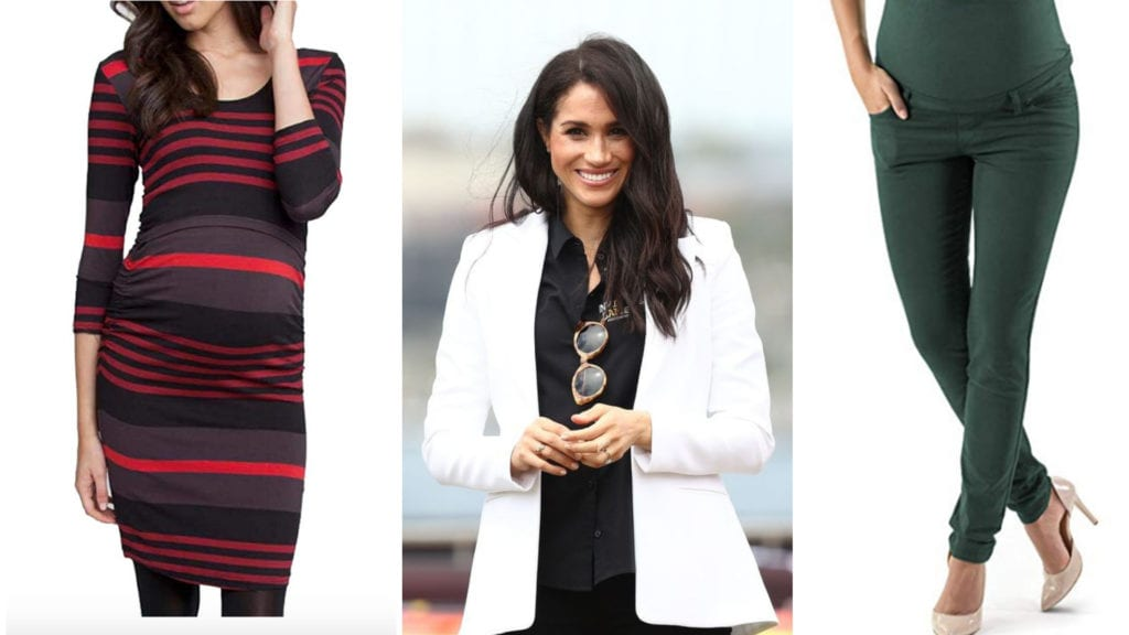 d07b890bc77 Stylish Maternity Clothes Meghan Markle (And You!) Would Look Great Wearing