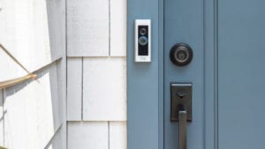 how does a video doorbell work
