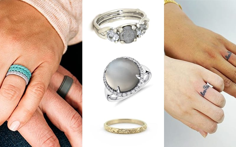 Diamonds Aren't Every Girl's Best Friend: Inexpensive Alternative Engagement Rings For The Non-Traditionalists