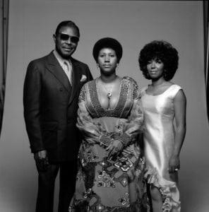 Portrait Of Aretha Franklin Family