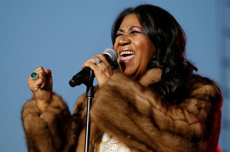 aretha franklin performance-song-soul respect