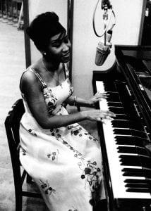 aretha franklin piano