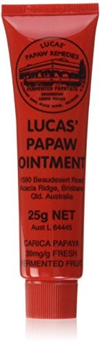 Beauty products for camping - Papaw lip balm and gloss