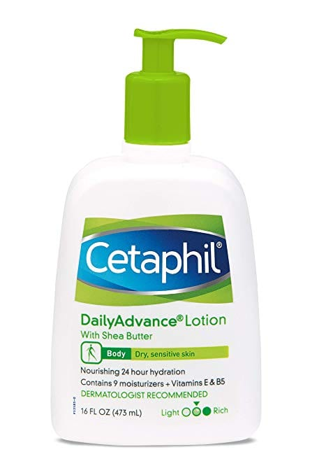 beauty products for camping - cetaphil