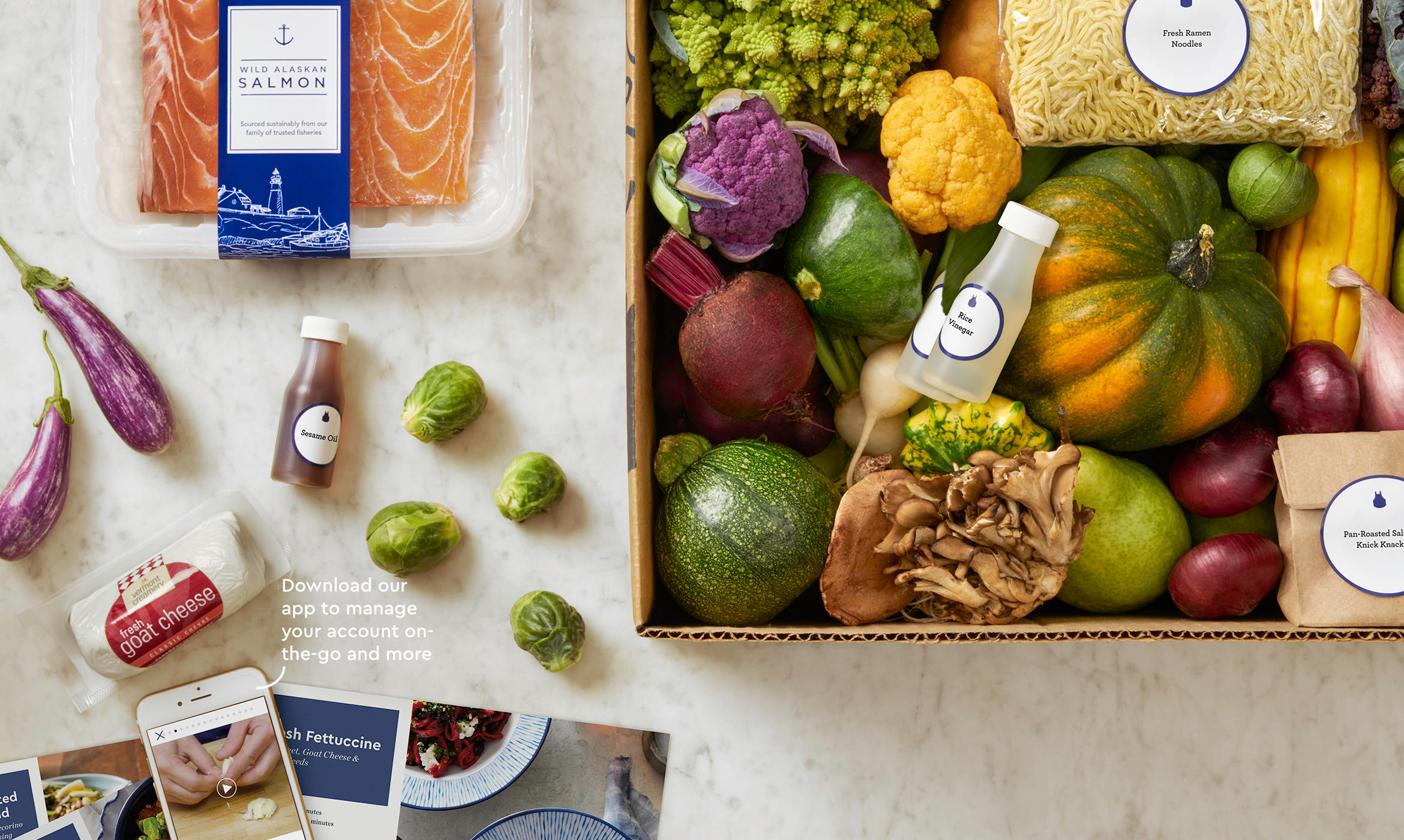 blue apron food
