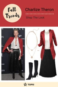 charlize theron - fall trends