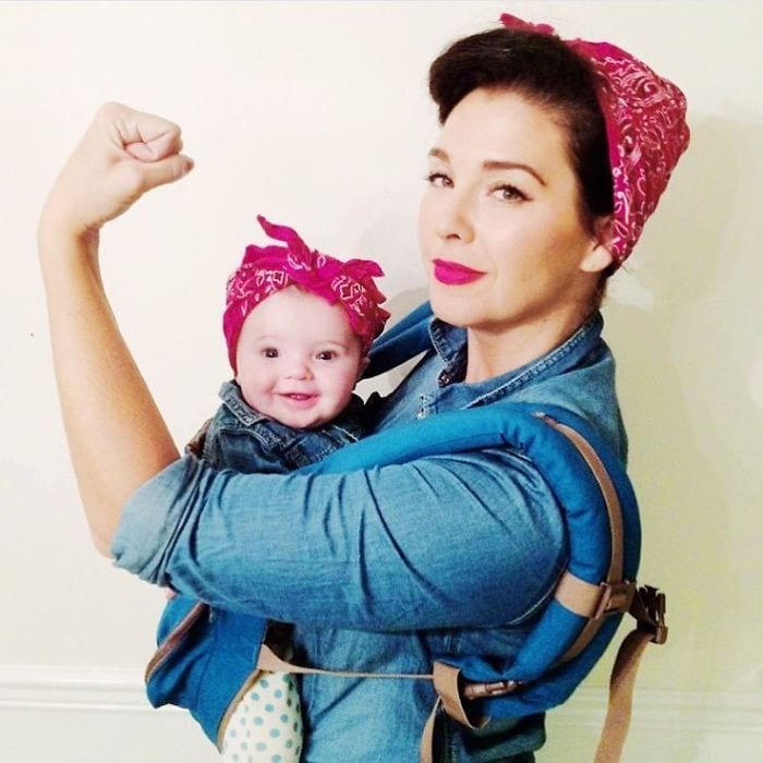 25 Entertaining Halloween Costume Ideas For Moms (and Dads) With Baby Carriers