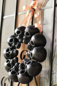 diy halloween decorations tombstone chalked
