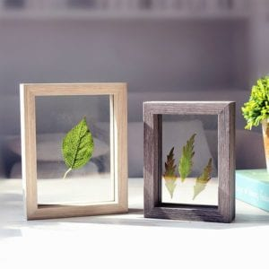 a set of double sided photo frames that make great printed photo gifts