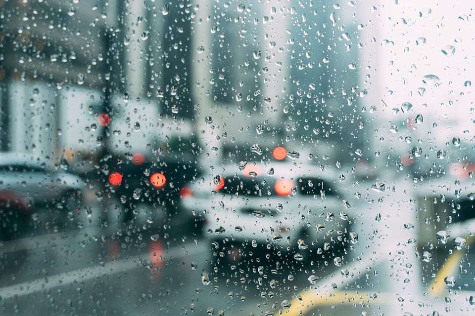 driving in rain can be dangerous