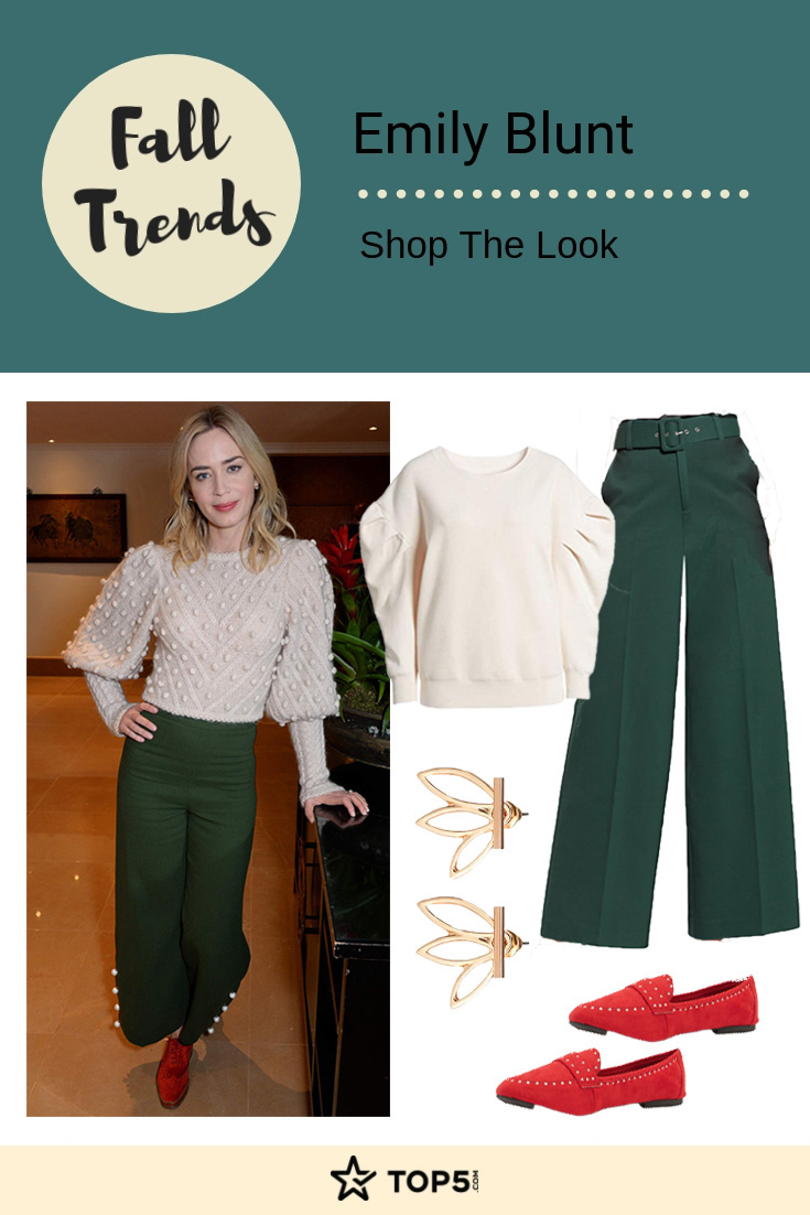 emily blunt - fall trends