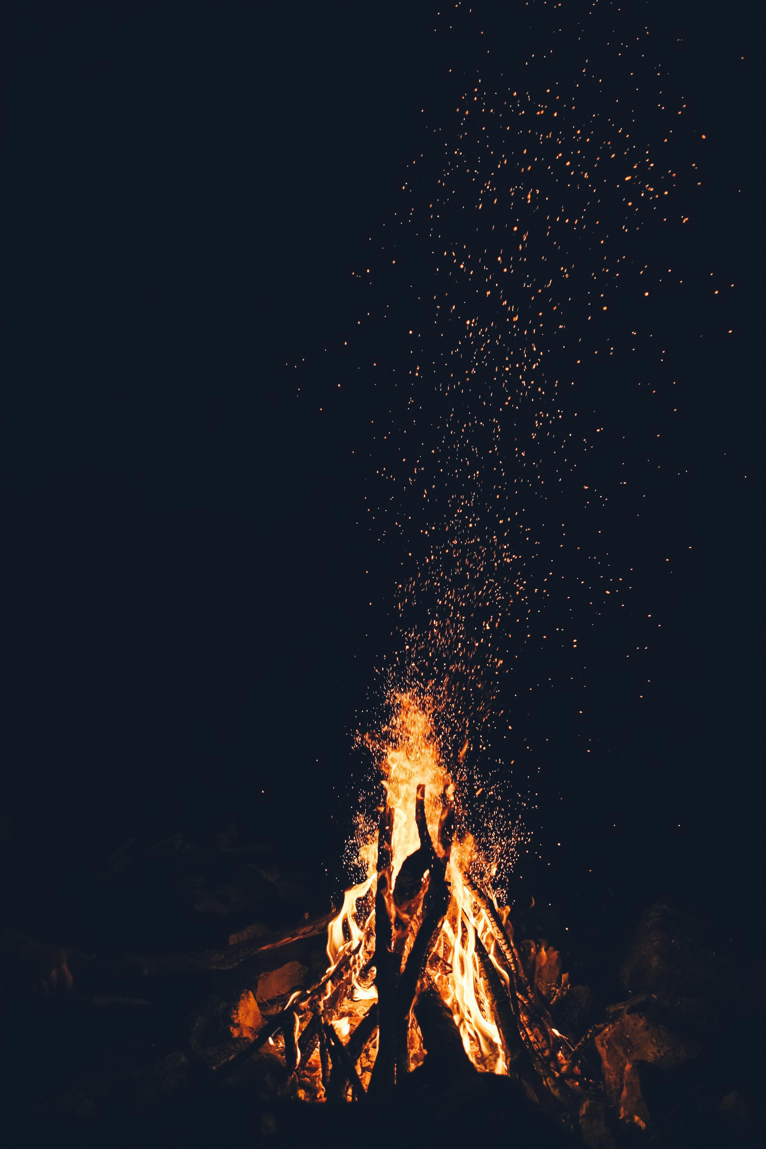 Fall Photos Bonfire