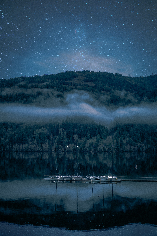 Fall Photos boat dock and Night Stars