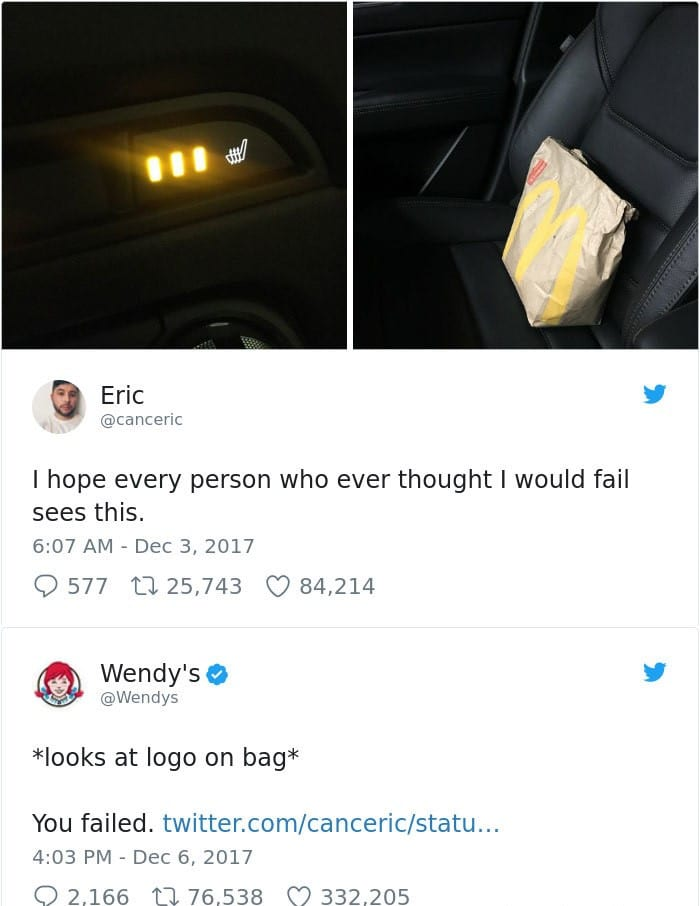 funny wendy's twitter roasts