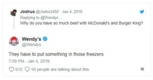 funny wendy's twitter roasts freezer