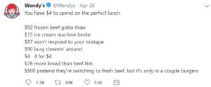 funny wendy's twitter roasts mixtape