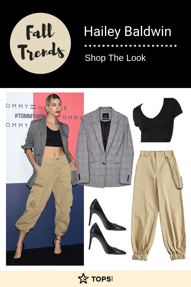hailey baldwin - fall trends