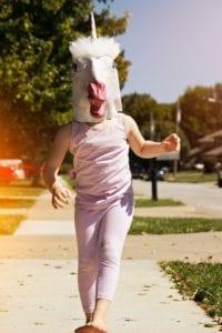 Halloween costume fail unicorn