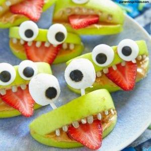 Halloween dessert recipes: vegan monster mouths
