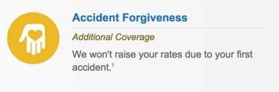 Liberty mutual insurance accident forgiveness