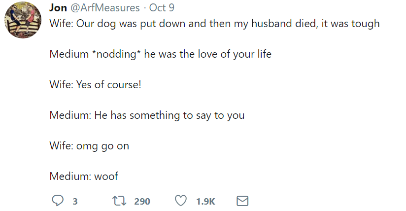 marriage tweets love dog